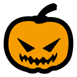 Abóbora de Halloween Scarry 8