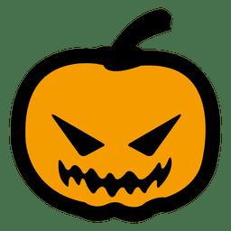 Scarry halloween pumpkin 8