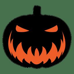 Scary pumpkin face 6