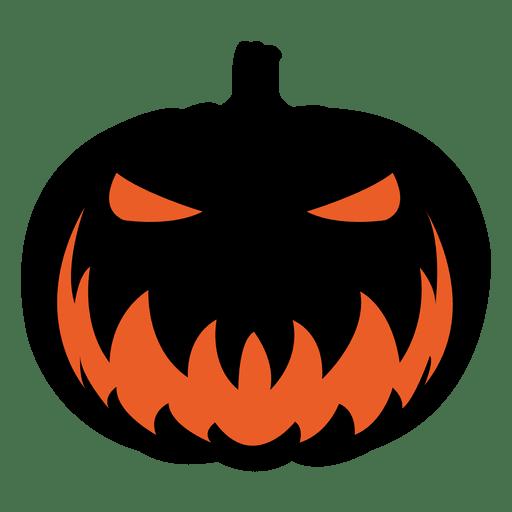 Cara de la calabaza de miedo 6 descargar png svg - Calabazas de halloween de miedo ...