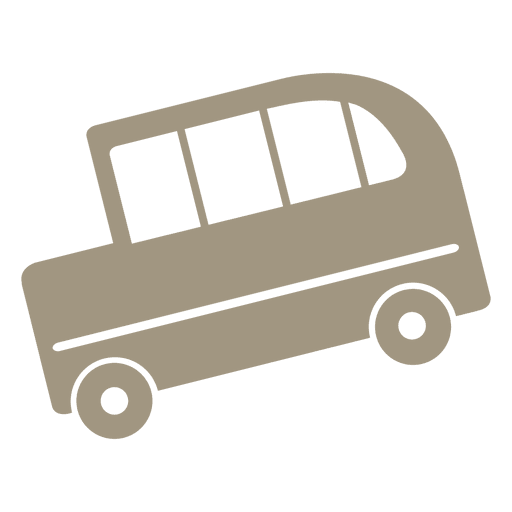 School bus icon Transparent PNG