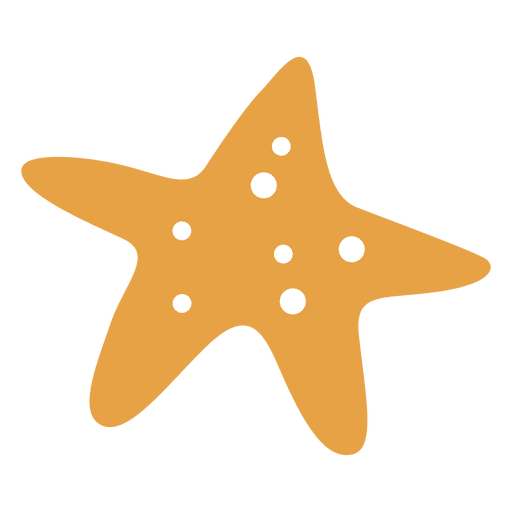 Sea star fish Transparent PNG
