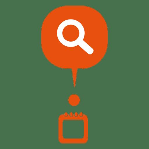 Buscar burbuja espiral infografía Transparent PNG