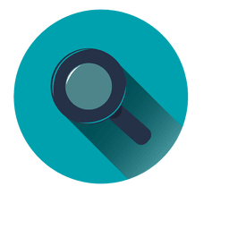 Buscar icono del círculo azul