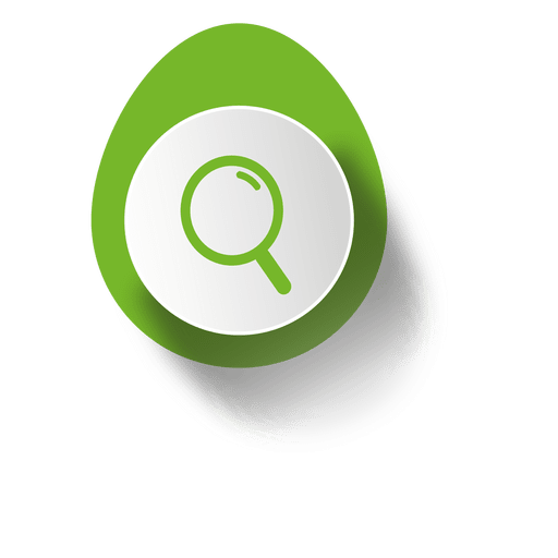 Search elliptical sticker infographic Transparent PNG