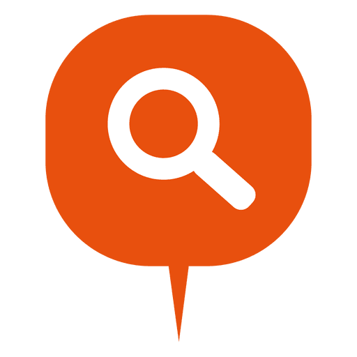 Search round box infographic Transparent PNG