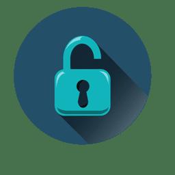 Icono de círculo de seguridad