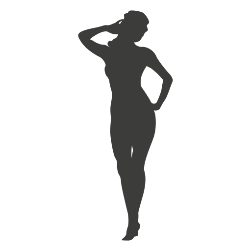 Sexy female silhouette 1 Transparent PNG