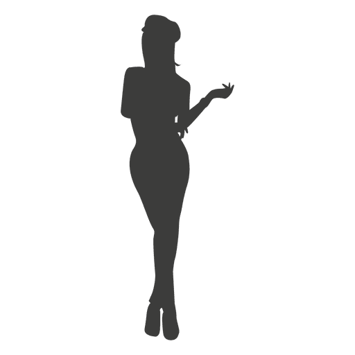 Sexy girl silhouette Transparent PNG