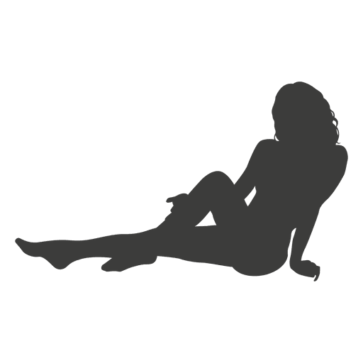 Sexy girl silhouette 1