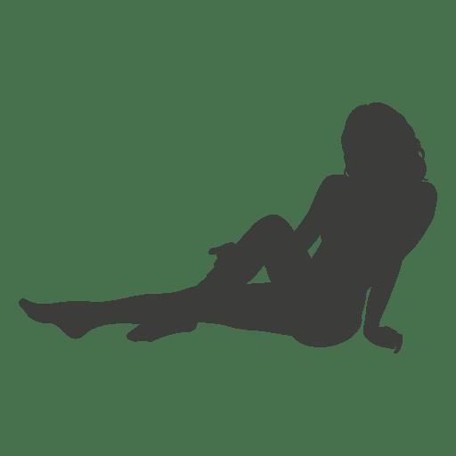 Silueta de chica sexy 1