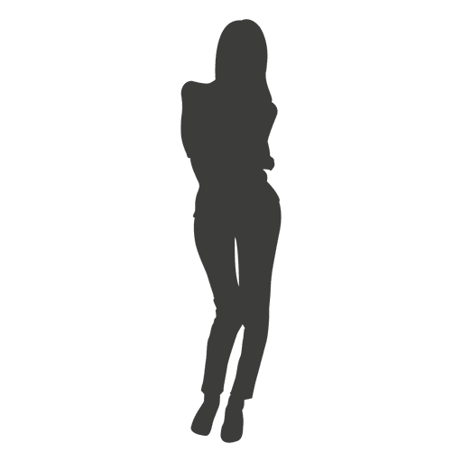Sexy woman silhouette Transparent PNG
