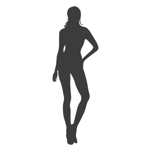 Sexy woman silhouette 1