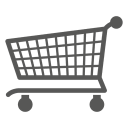 Shoppingcart icono plana
