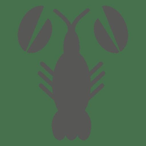 Icono plano de camarón Transparent PNG