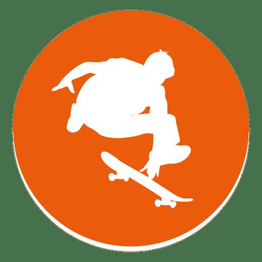 Skating circle icon Transparent PNG