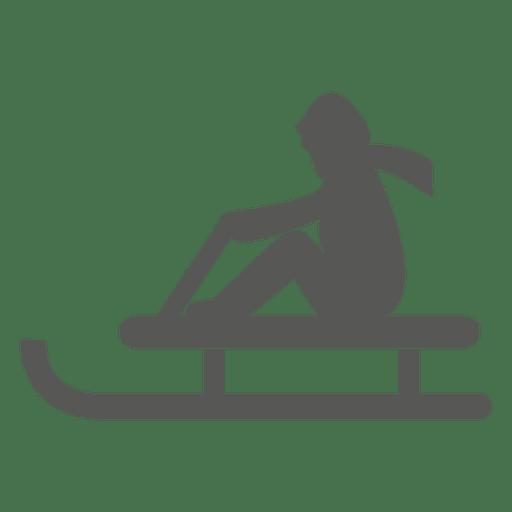 Ski doo sleigh icon Transparent PNG