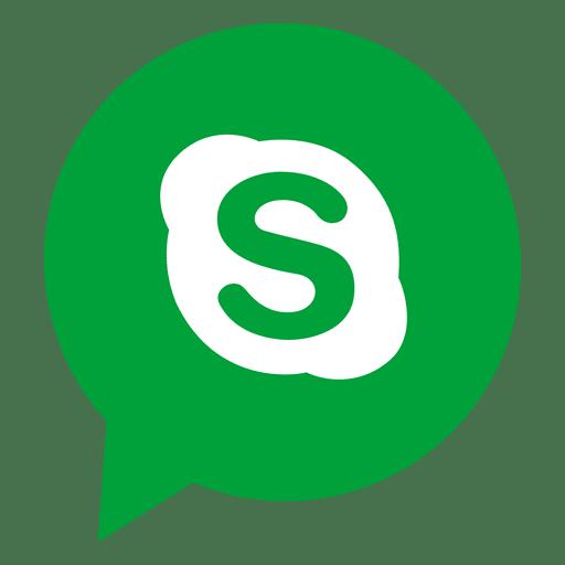 Skype Bubble Icon Transparent Png Svg Vector File