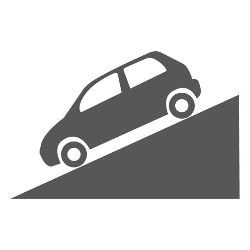 Slow moving vehicle sign Transparent PNG