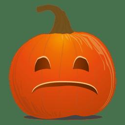 Smile pumpkin emoticon