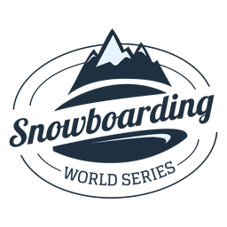 Snowboarding label