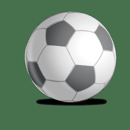 Diseño de pelota de futbol Transparent PNG