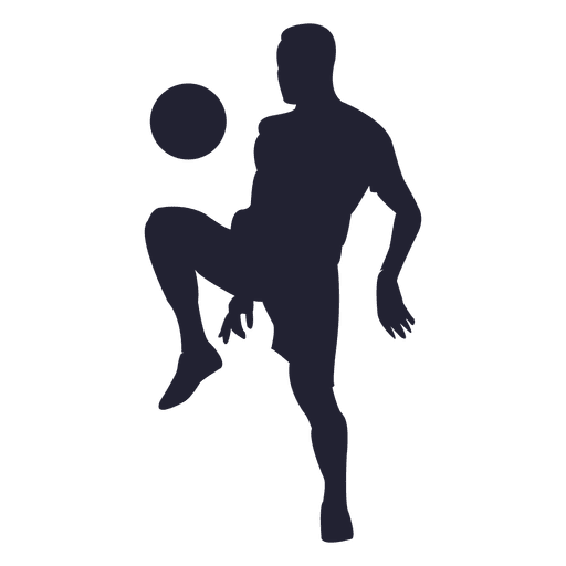 Soccer player receiving ball 2 Transparent PNG
