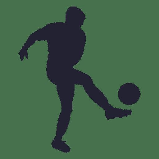 jogador de futebol silhueta 2 baixar png  svg transparente football player clipart kids football player clipart kids