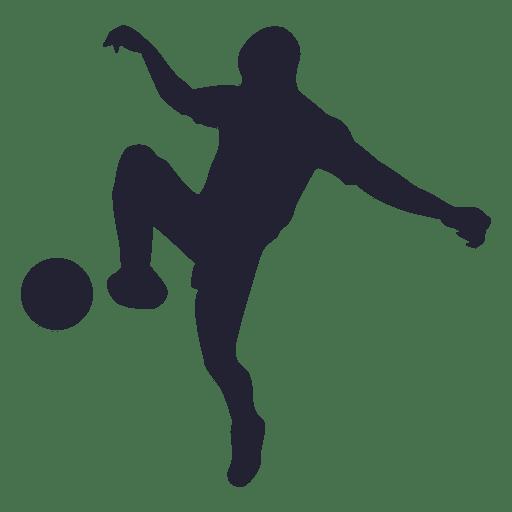 silueta jugador de f u00fatbol 5 descargar png  svg transparente soccer player clipart images soccer player clip art finger puppet