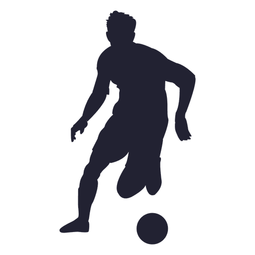 soccer player silhouette 7