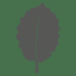 Sauerkirschlinie Blatt