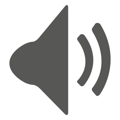 Ícone de alto-falante Transparent PNG