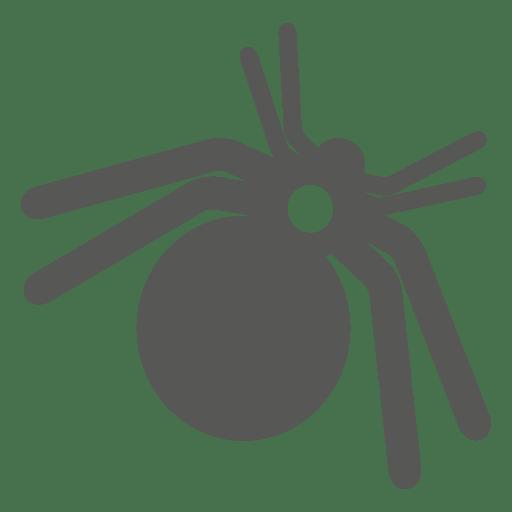 Ícone assustador de aranha Transparent PNG