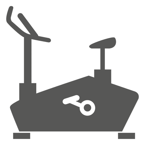 Spin bike flat icon Transparent PNG