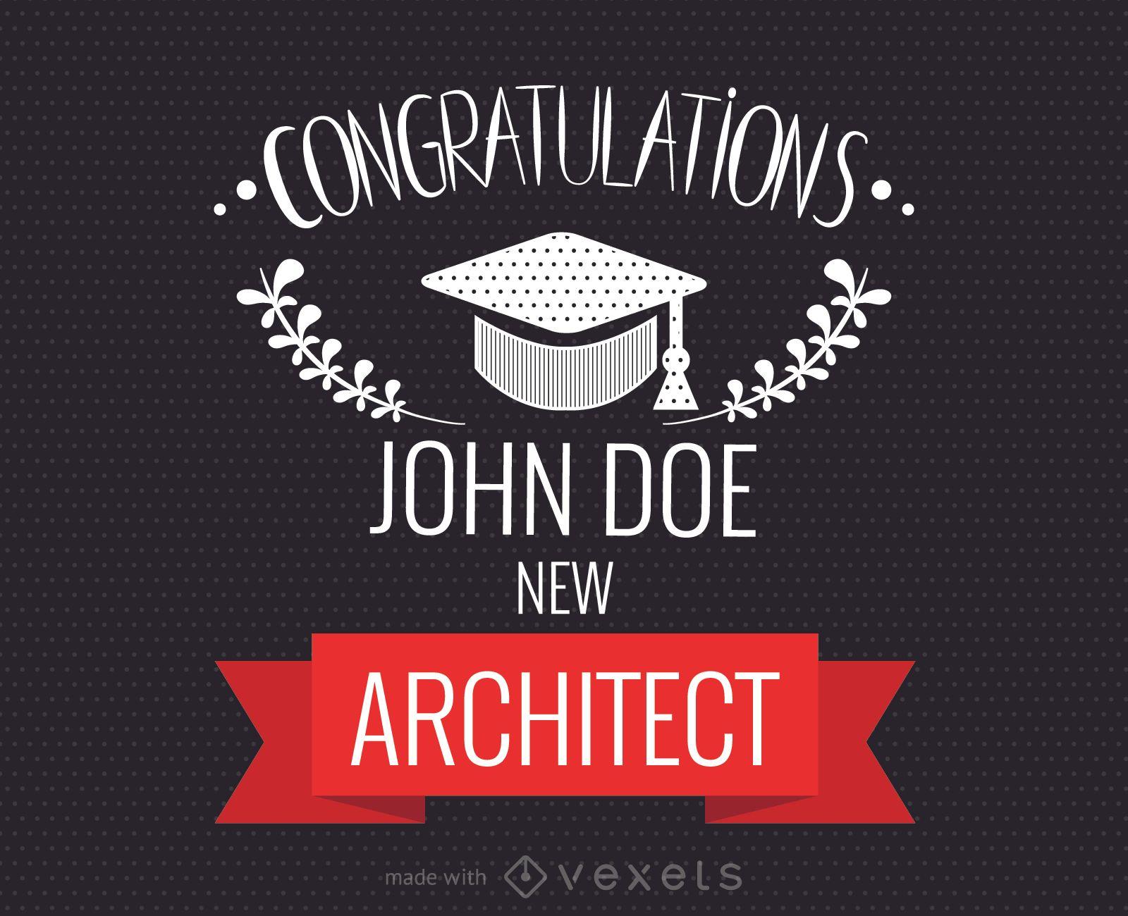Graduation Congratulations Card Maker Editable Design