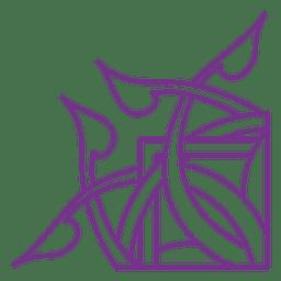 Esquinas lineas espirales