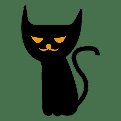Spooky halloween cat 7
