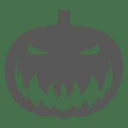 Icono de calabaza espeluznante