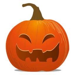 Spooky pumpkin emoticon