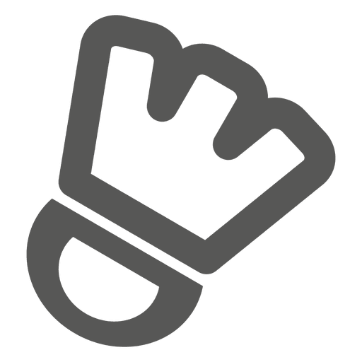 Sports hand glove icon Transparent PNG