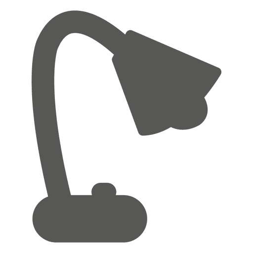 Spot table lamp icon