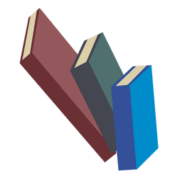 Pilha de 3 livros