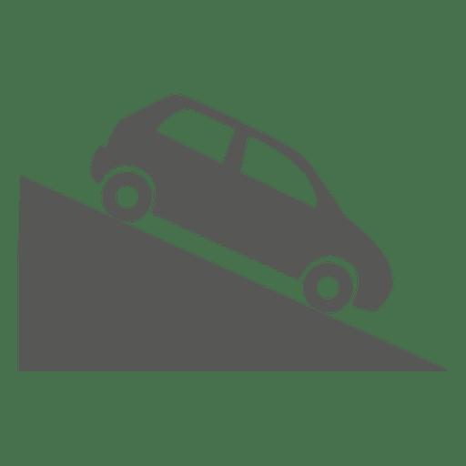 Sinal de estrada decente íngreme Transparent PNG