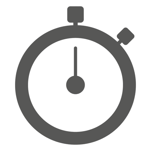 Stopwatch timer stroke icon Transparent PNG