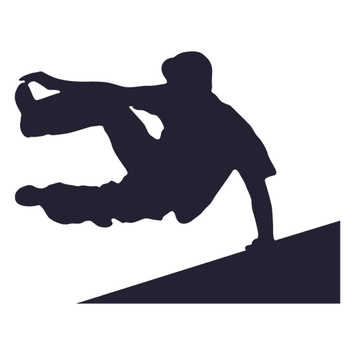 Street jumper silhouette 2
