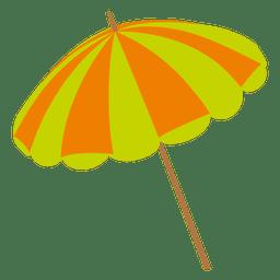 Farbiges Regenschirm-Symbol