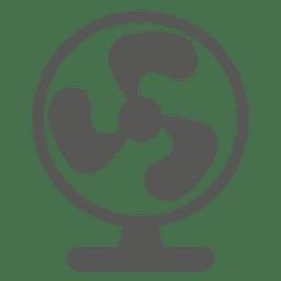 Icono de ventilador de mesa