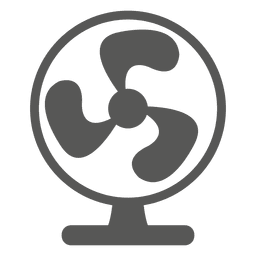 Tischventilator-Symbol