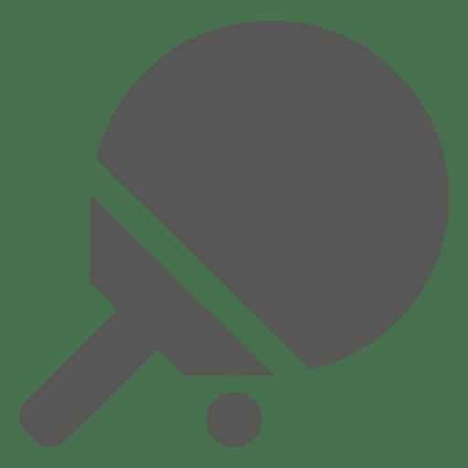 Ícone de raquete de bola de tênis de mesa Transparent PNG