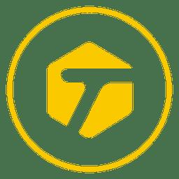 Icono de anillo etiquetado
